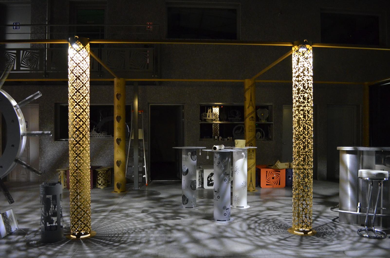 colonne d co et design gtd design d coration. Black Bedroom Furniture Sets. Home Design Ideas